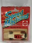 1982 hot wheels SPEED MACHINES ROCK BUSTER white short card FREE SHIPPING
