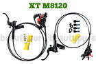 Shimano Deore XT 4 pistons BR M8120 Disc Brake Set with N03A Pads NEW
