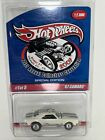 2007 hot wheels 21st OC Convention WHITE 67 CHEVY CAMARO 1 5 only 3000 made