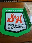 Original Vintage SH green stamps FLANGE double sided GREAT CONDITION