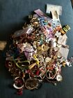 Over 11 Pounds Jewelry Cross Lot Rosaries Medals Unsorted Religious Christian