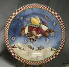 DEBBIE MUMM SNOW ANGEL VILLAGE PLATE SALAD SAKURA  BAG