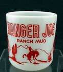 Hazel Atlas RANGER JOE Ranch Mug/ Child's Mug