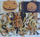 Junkitz BOO BASH Chipboard Alphabet Letters Die Cuts