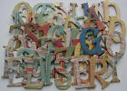 Basic Grey RECESS Chipboard Letters New