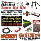 Compound BOW STRING TUNE UP VALUE PACK Archery SAVE $