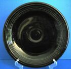Vintage S&H Green Stamps 1980 Fiesta Contemporary Black Platter Chop Plate