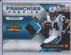 DeAngelo Williams 10 Panini Threads Patch Card 50