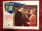 MINISTRY OF FEAR (1944) RAY MILLAND & MARJORIE REYNOLDS #5 ORIGINAL LOBBY CARD