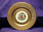 Royal China A.Kauffman 22k Gold Encrusted Cabinet Plate