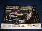 2011 JOE GIBBS RACING SUNOCO DRIVEN CHALLENGE NASCAR POSTCARD