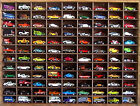 Matchbox Hot Wheels Handmade Display Case 164 108 cars Walnut Stain