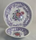 Spode MAYFLOWER Salad Plate & Fruit Bowl 2/8772 GREAT CONDITION