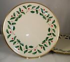 Lenox HOLIDAY 2 Dinner Plates GREAT MINT CONDITION dimension shape