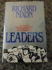 Leaders by Richard Nixon Signed and inscribed first printing in dust jacket