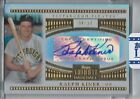2012 tribute RALPH KINER auto SHORT PRINT # 6 24 ON CARD AUTO