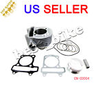 engine cylinder piston 150cc gy6 SCOOTER moped ATV quad Go Kart taotao sunl