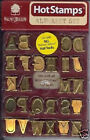 Walnut Hollow HotStamps ALPHABET SET Must See Best Price Hot Stamps