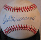 TED WILLIAMS SIGNED AUTO PSA DNA BASEBALL RED SOX K77440