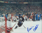 WENDEL CLARK - AUTOGRAPHED 8X10 TAMPA BAY LIGHTNING w ICEBOX LOA CC