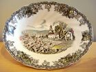 Johnson Brothers FRIENDLY VILLAGE 9-Inch Oval Vegetable Bowl A+ CONDITION