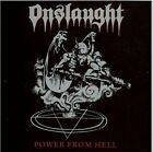 ONSLAUGHT POWER FROM HELL + 2 BONUS TRACKS SEALED CD NEW