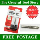 BLACK AND DECKER 6 MM STRAIGHT ROUTER BIT 1/4