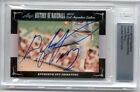 2012 LEAF HISTORY OF BASEBALL GAYLORD PERRY CUT AUTOGRAPH BECKETT ENCASED