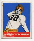 1948 Leaf Football Card #98 Al Dimarco-Iowa