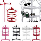 72 Holes Earrings Ear Jewelry Metal Rotating Display Stand Holder Show Rack New