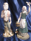 Girl and Boy Porcelain Figurines, INGLES Made in Spain, Lladro Style Figurines