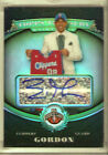 2008-2009 Topps Treasury Eric Gordon Autograph Rookie Refractor Card #127