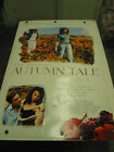 AUTUMN TALE ORIGINAL US ONE SHEET MOVIE POSTER ERIC ROHMER