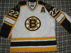 AUTHENTIC BOSTON BRUINS RICK TOCCHET WHITE STARTER JERSEY 52 ORIGINAL NEVER WORN