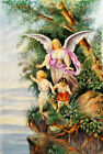 Rare Russian signed Antique Painting on Porcelain Plaque