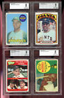 1972 Topps Willie Mays San Francisco Giants #49 BGS BVG 9 Graded Baseball Card