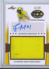 Steven Mitchell 13 Leaf US Army All American Bowl Jersey Autograph Card 25