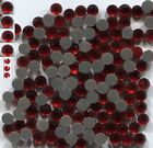 Rhinestones 3mm 10ss RED SIAM Hot Fix Iron on 1 gross
