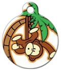 MONKEY BOY Custom Personalized Pet ID Tag for Dog and Cat Collars