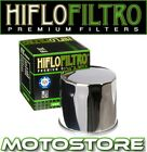 HIFLO CHROME OIL FILTER FITS SUZUKI VL1500 LC INTRUDER 1998-2009