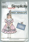 Simplicity 8867 Daisy Kingdom Girls Dress Sewing Pattern Sizes 5, 6, 6X Uncut