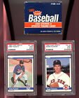 1984 Fleer Update Complete Box Set Roger Clemens Kirby Puckett PSA 9 (OC) Rookie