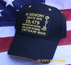 IN MEMORY VIETNAM VET CAP HAT US MARINES ARMY NAVY AIR FORCE PIN UP USCG WOW