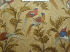 Braemore PHEASANT HUNT TAPESTRY Decorative Fabric Y1c