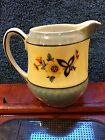 Vintage Bavaria Creamer or Small Pitcher Pearl Glazed Flowers Pretty