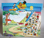 VERY RARE 1984 VINTAGE EL GRECO DONALD PRESSERS PANORAMA #3 DISNEY NEW SEALED !