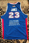 LeBron James Autographed Cleveland Cavaliers Jersey 1st All-Star Game 19 123