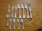12 PCS Of Birks Regency Silverplate Cascade Serving Flatware