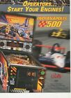 INDIANAPOLIS 500 Pinball Arcade Flyer by BALLY video games, LOW USA shipping