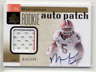2011 SP AUTHENTIC ROOKIE AUTO PATCH MIKEL LESHOURE AUTOGRAPH 2 COLOR JERSEY 699